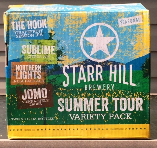 Starr Hill Brewery Summer Tour Variety Pack