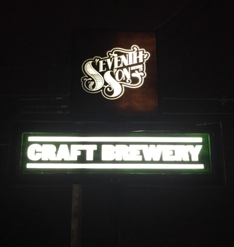 Seventh Son Brewery sign
