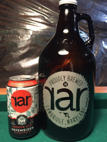 RaR Brewing Growler