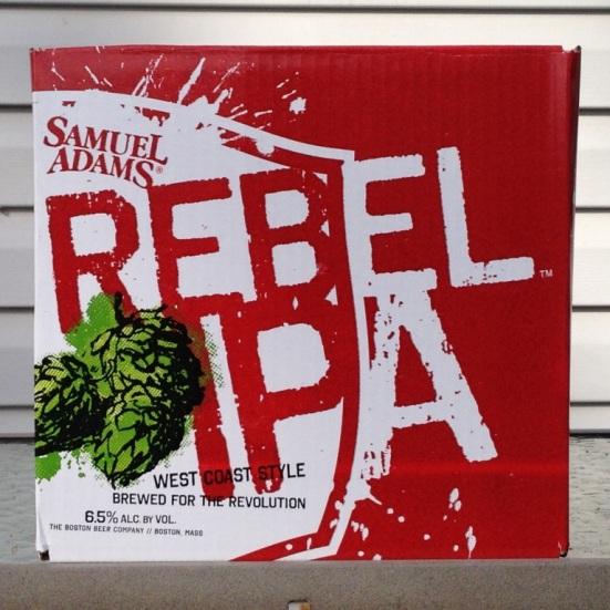 Samuel Adams Rebel IPA 12-pack