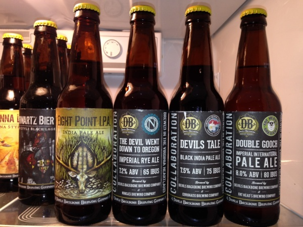 Devils Backbone Adventure Pack Collaboration Sampler brews