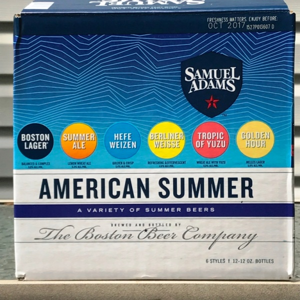 Sam Adams Summer 12-Pack 2017